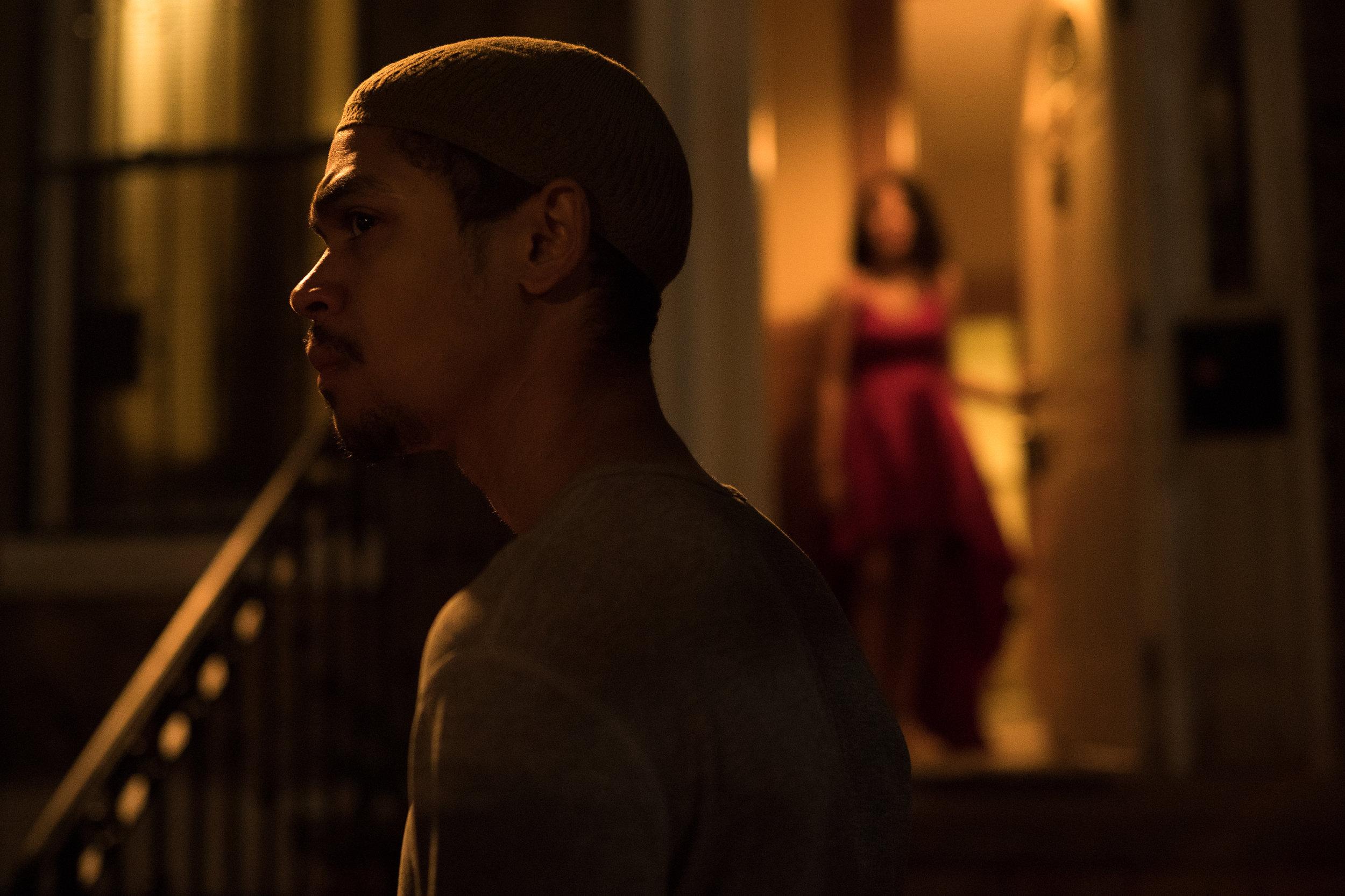 """Reynaldo Piniella as Abdul Caban and Crystal de la Cruz as Naya Caban in """"Freedom Shadow""""  Sony a9"""