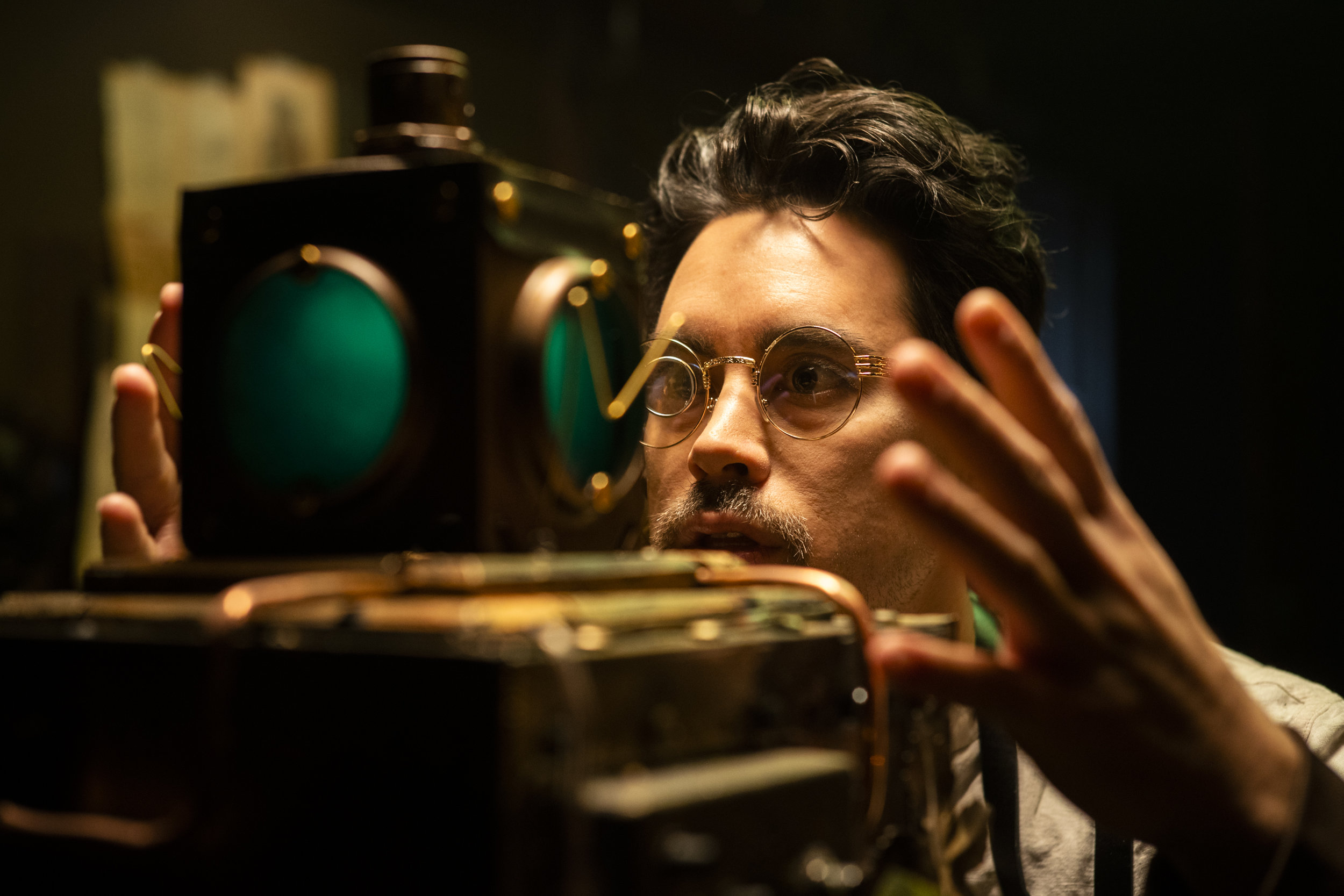 """Anthony Ordonez as Professor Vaqt in """"Experiment""""  (sony a9)"""