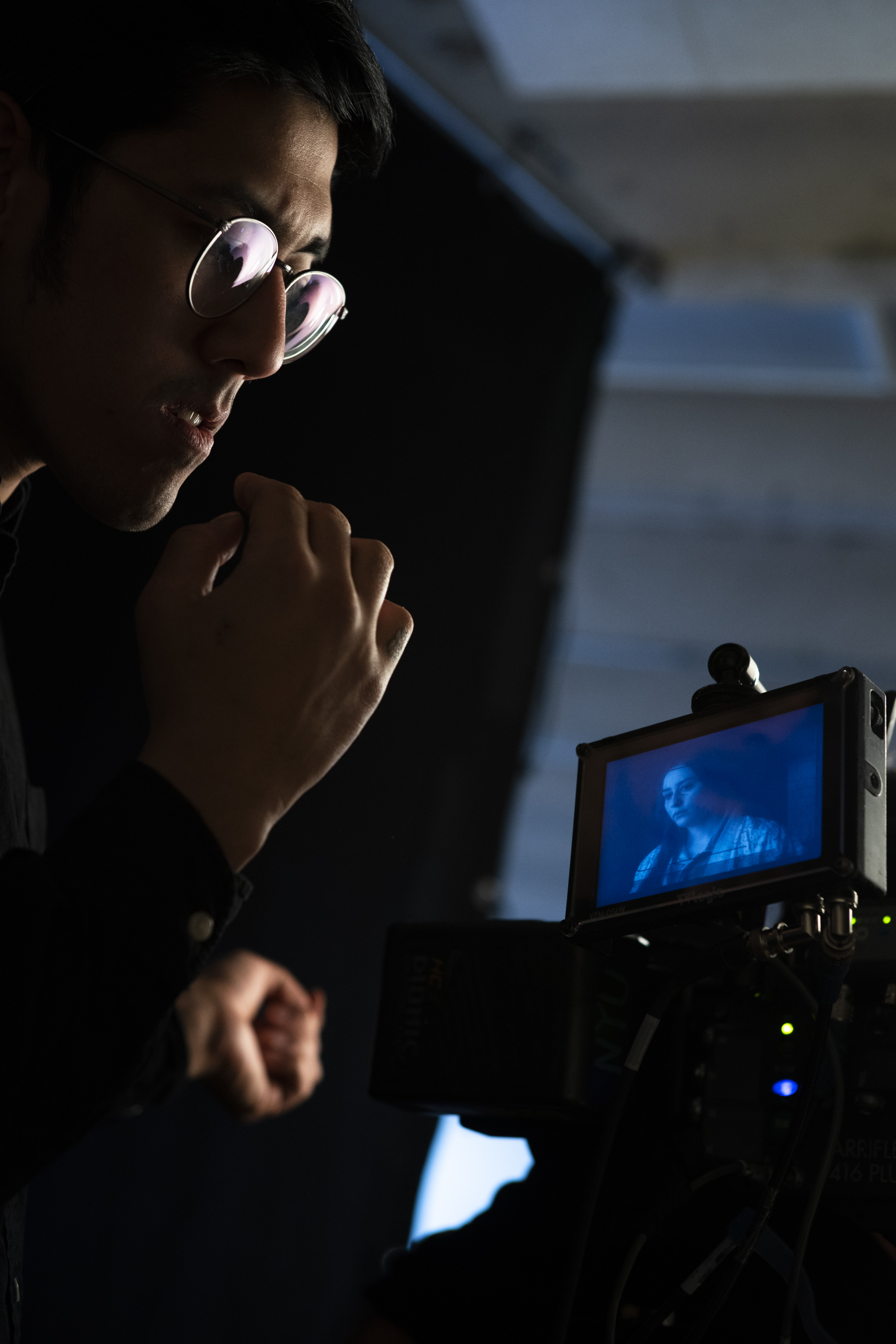 """writer/director Kevin Vu on the set of """"Perfect as Cats""""  (Sony a9)"""