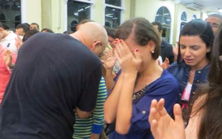 Teens wept and cried out to God as they approached the altar. As we laid hands on those at the altar, God would heal and deliver one after another.