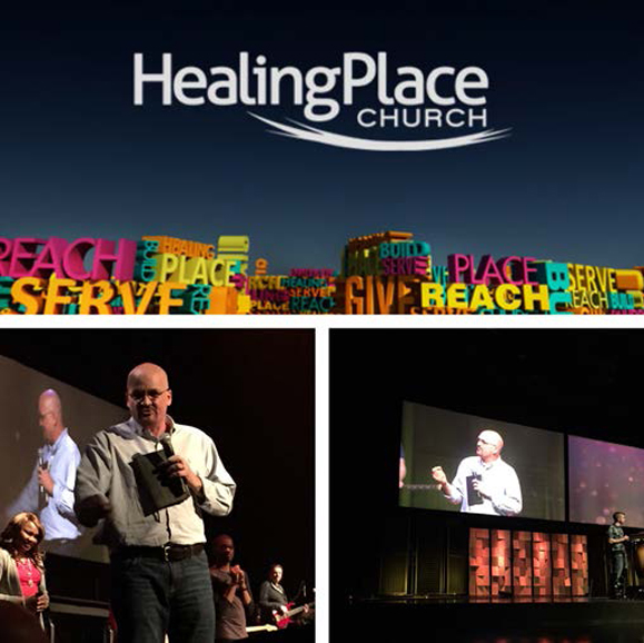 "I had the opportunity to go back home to Baton Rouge this month to be participate in HPC'S missions weekend. What an honor to encourage the church to ""go into all the world""!"