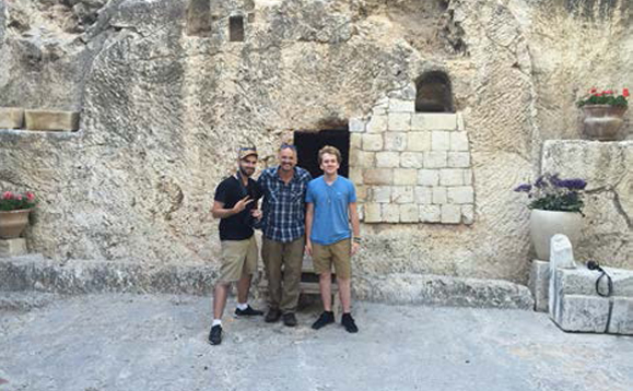 The empty tomb still sends shivers down my spine. What an honor to share this with my son.