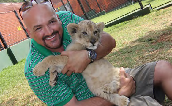 While in Africa I made many new friends. This was the only one that bit me.