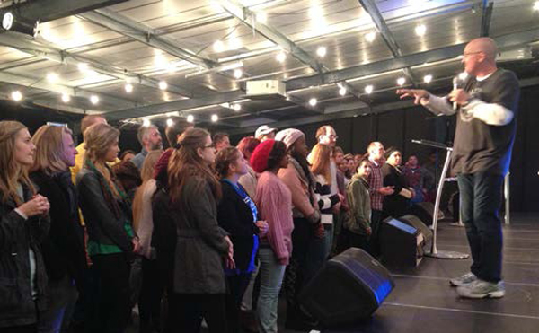 I was honored to again be with our friends at Hillsong Church in Cape Town. Willing hearts responded to His Word!