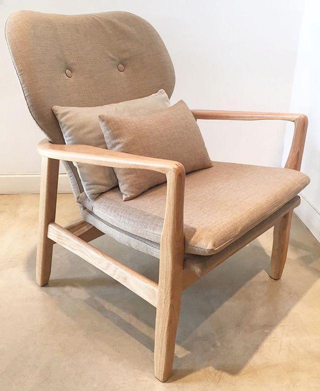 •• sillón nórdico lino••#harturorecoleta #harturopalermo