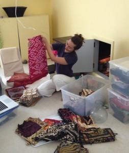 Batik sorting