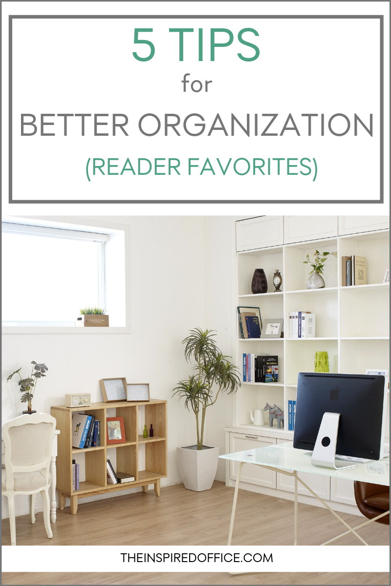 A roundup of Kacy Paide's most popular blog posts about organizing.