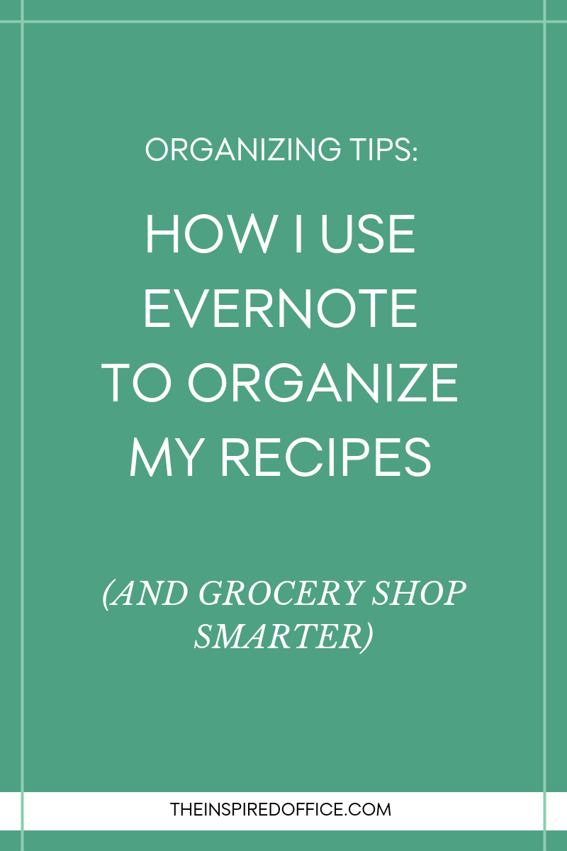 Looking for a way to organize your recipes so you can easily search and find the ones you want? See how I organize my recipes in Evernote, plus grab a yummy recipe for healthy Breakfast Cookies!