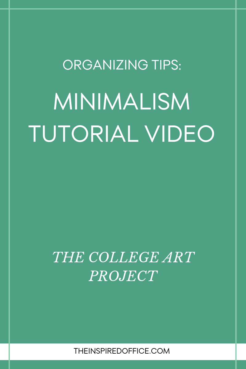 Minimalism Tutorial Video - The College Art Project.png