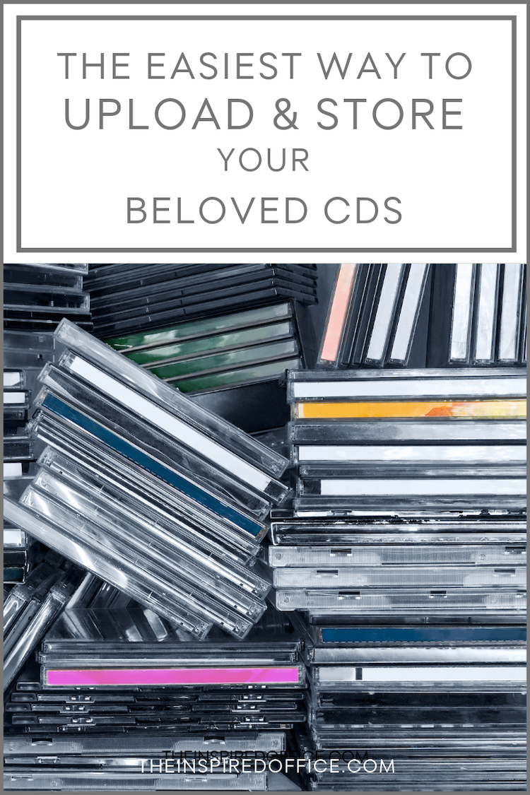 Looking for a way to downsize your music collection yet unable to part ways with your CDs? I might have the perfect solution for you! #decluttering #organizing