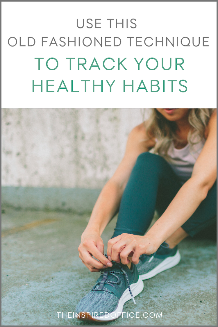 I've experimented quite successfully with habit tracker apps in the past, but I was looking for something more visible to track my workouts. Check out what I've been using and why it works so well! #workouts #habits