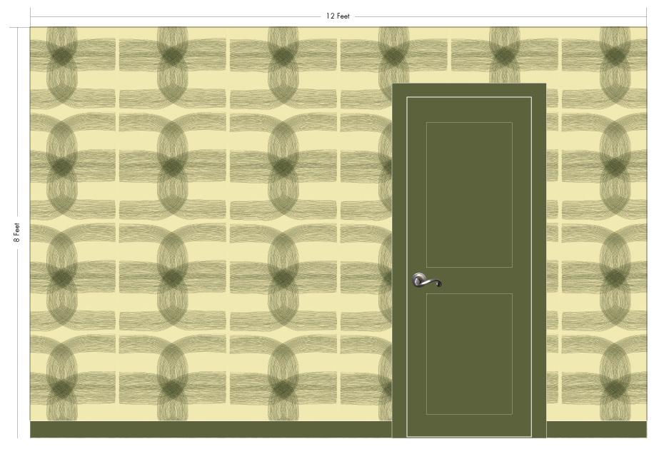 "LINC cream puff   Pattern Repeat: 26""w x 27""h"