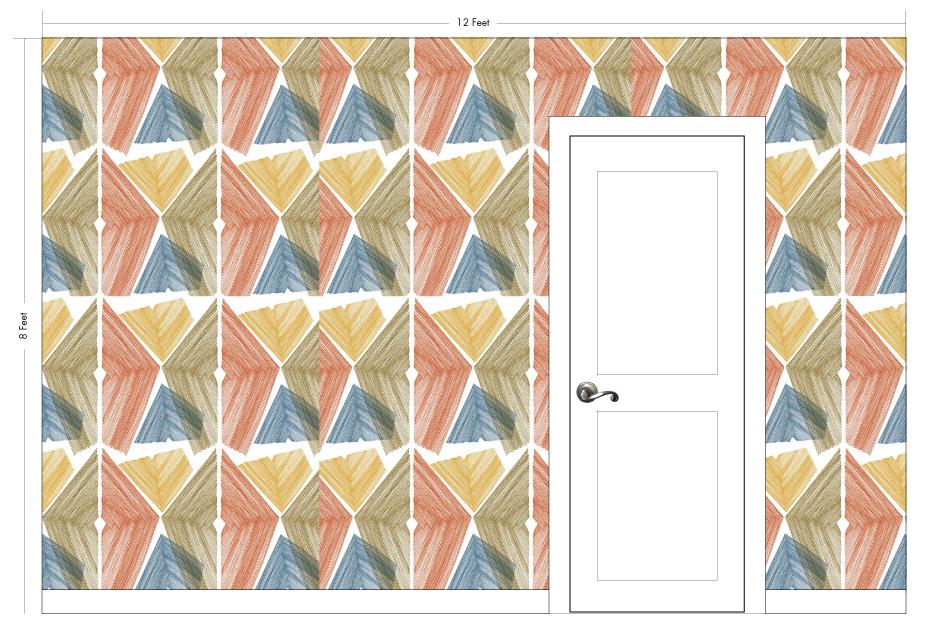 "LITTLE HESTA white | Pattern Repeat: 20.75""w x 27.75""h"
