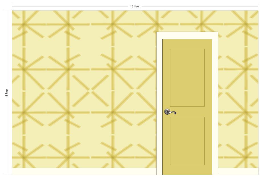 "PIPPI cream puff | Pattern Repeat: 26""w x 26""h"