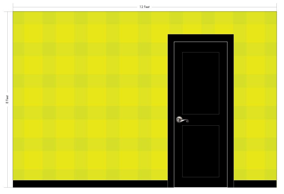 "JANE saffron | Pattern Repeat: 18""w x 18""h"