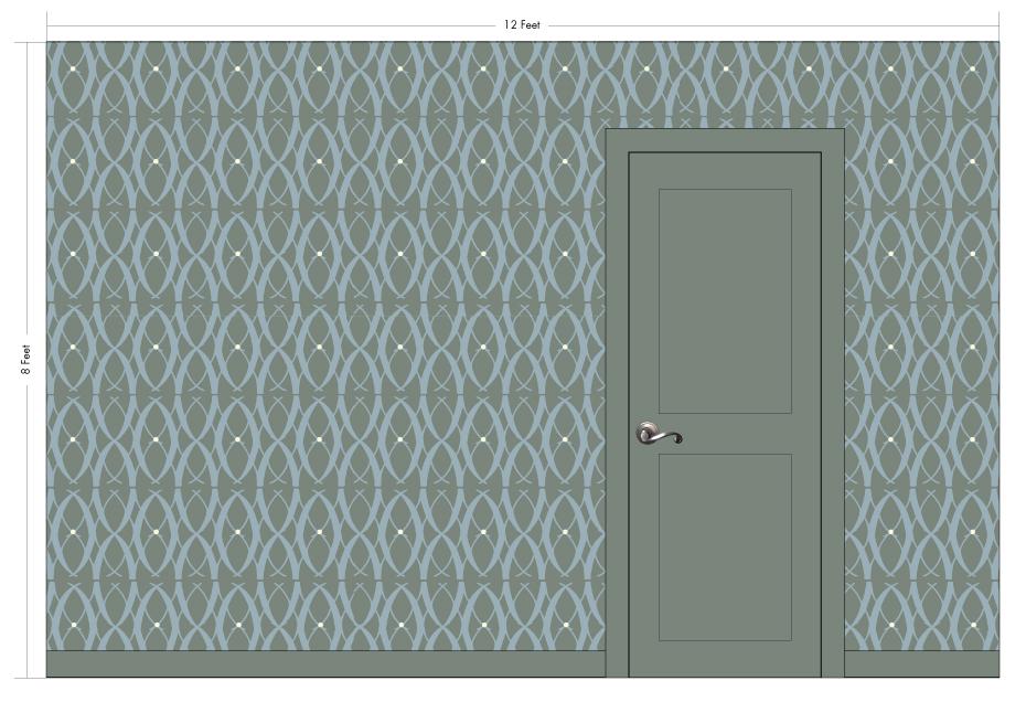 "HEATHER pumice | Pattern Repeat: 13""w x 15.25""h"