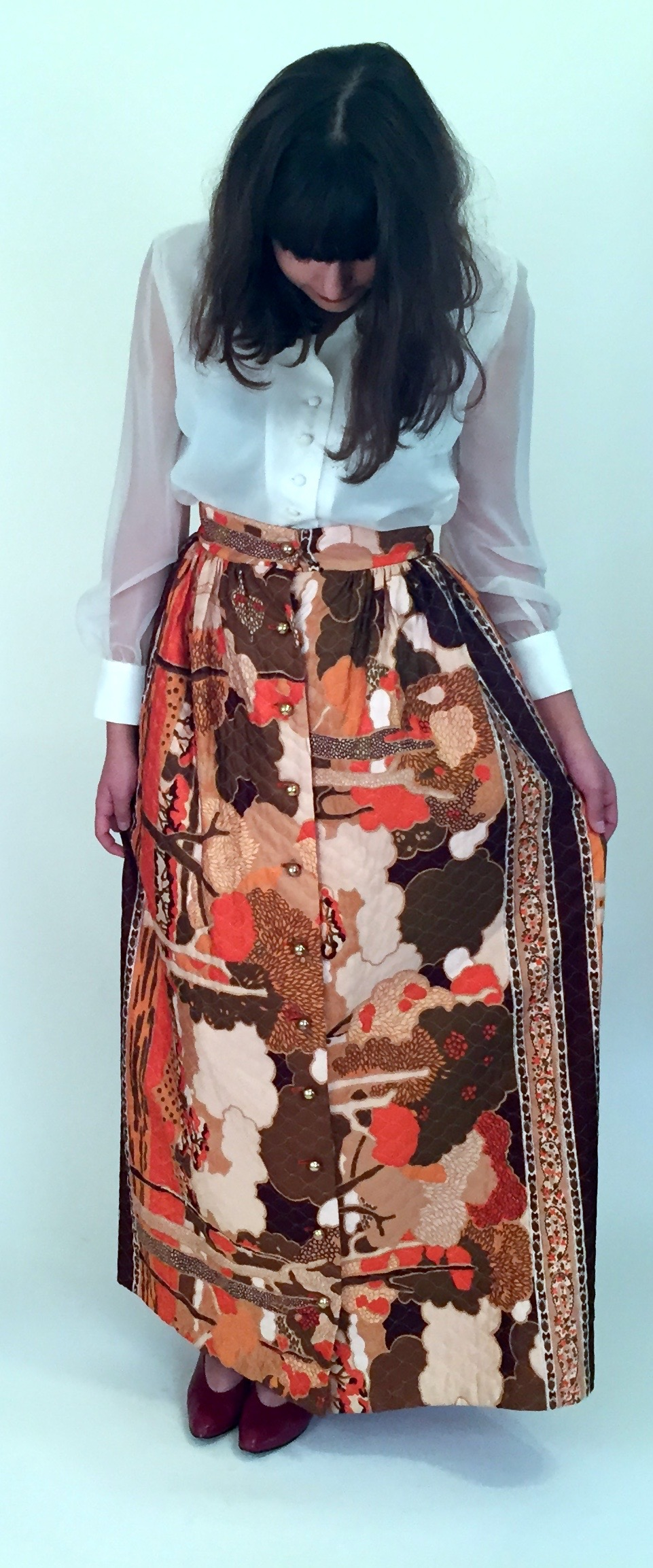The Milly Quilted Skirt