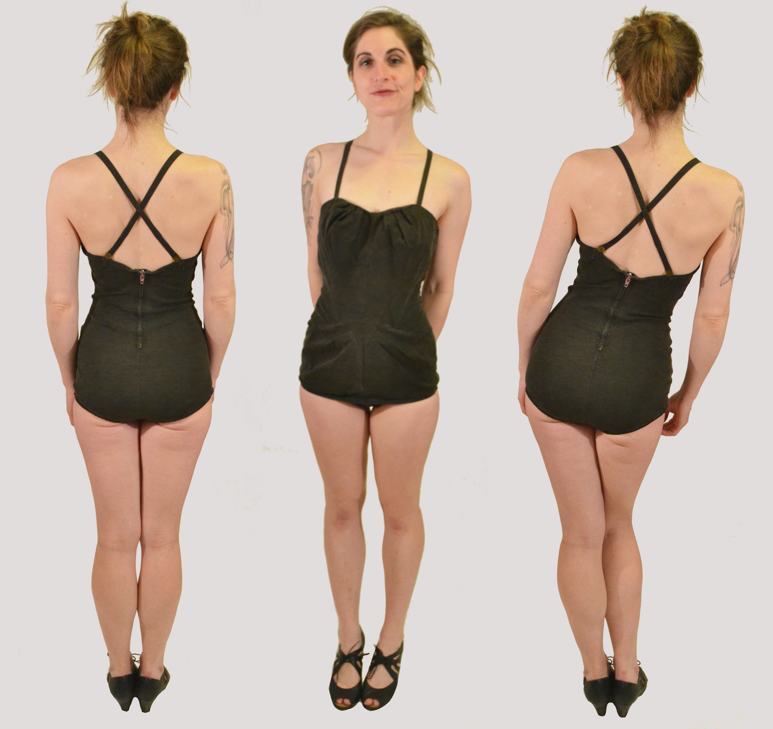 The Lombard 1940s Bathing Suit