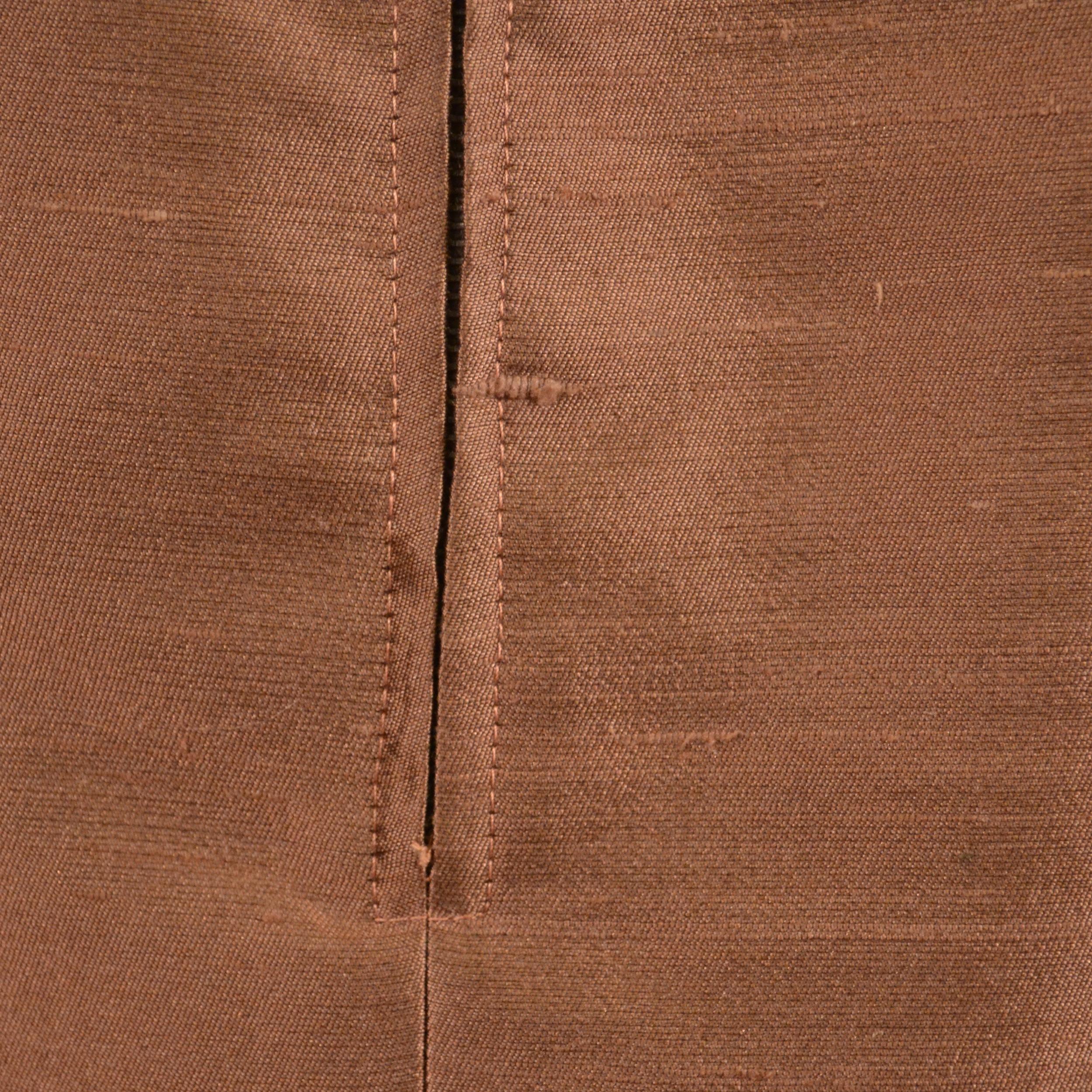 1960s Raw Silk Shift