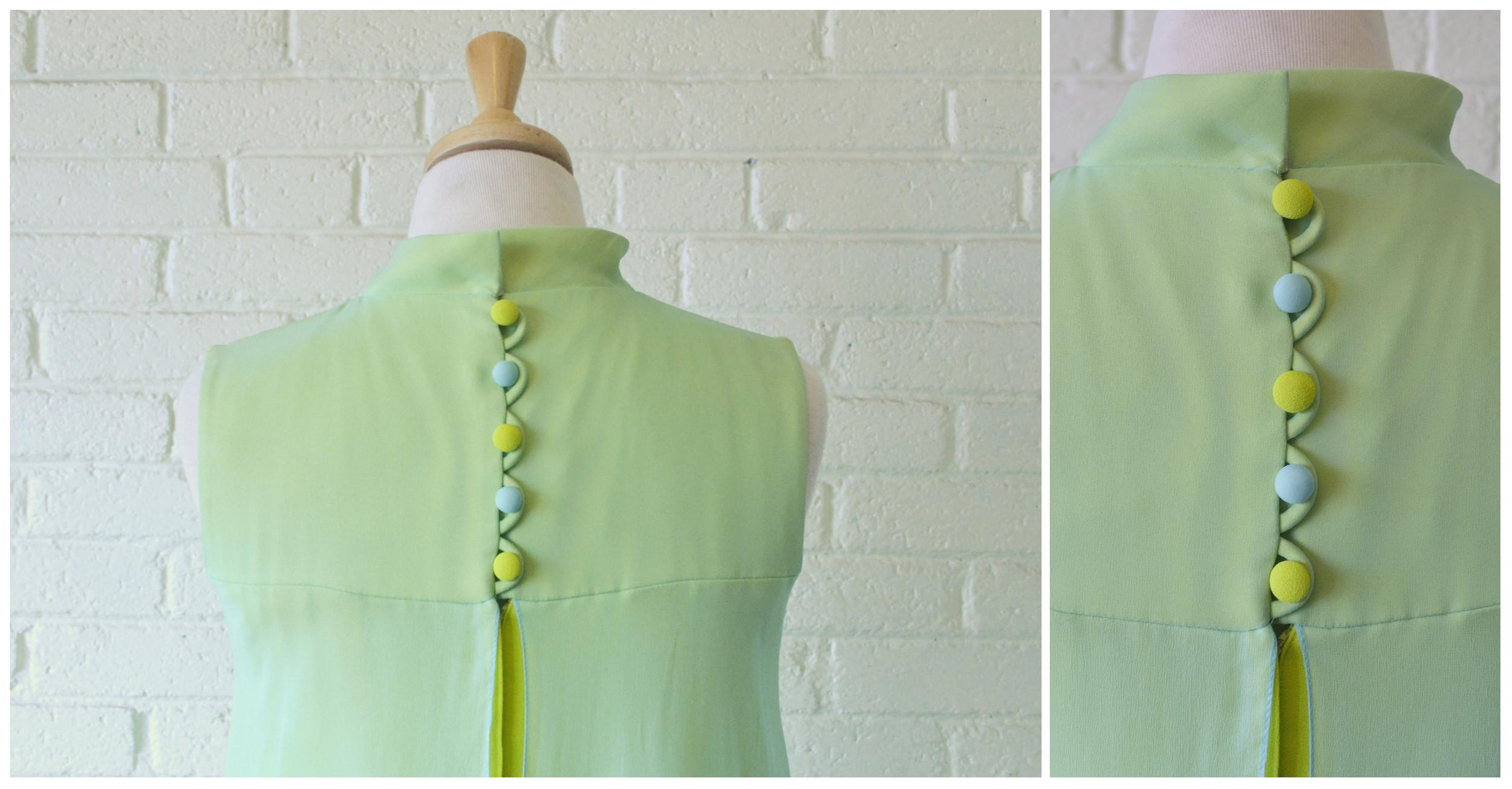 1960s Crepe Drape Dress Detail.jpg