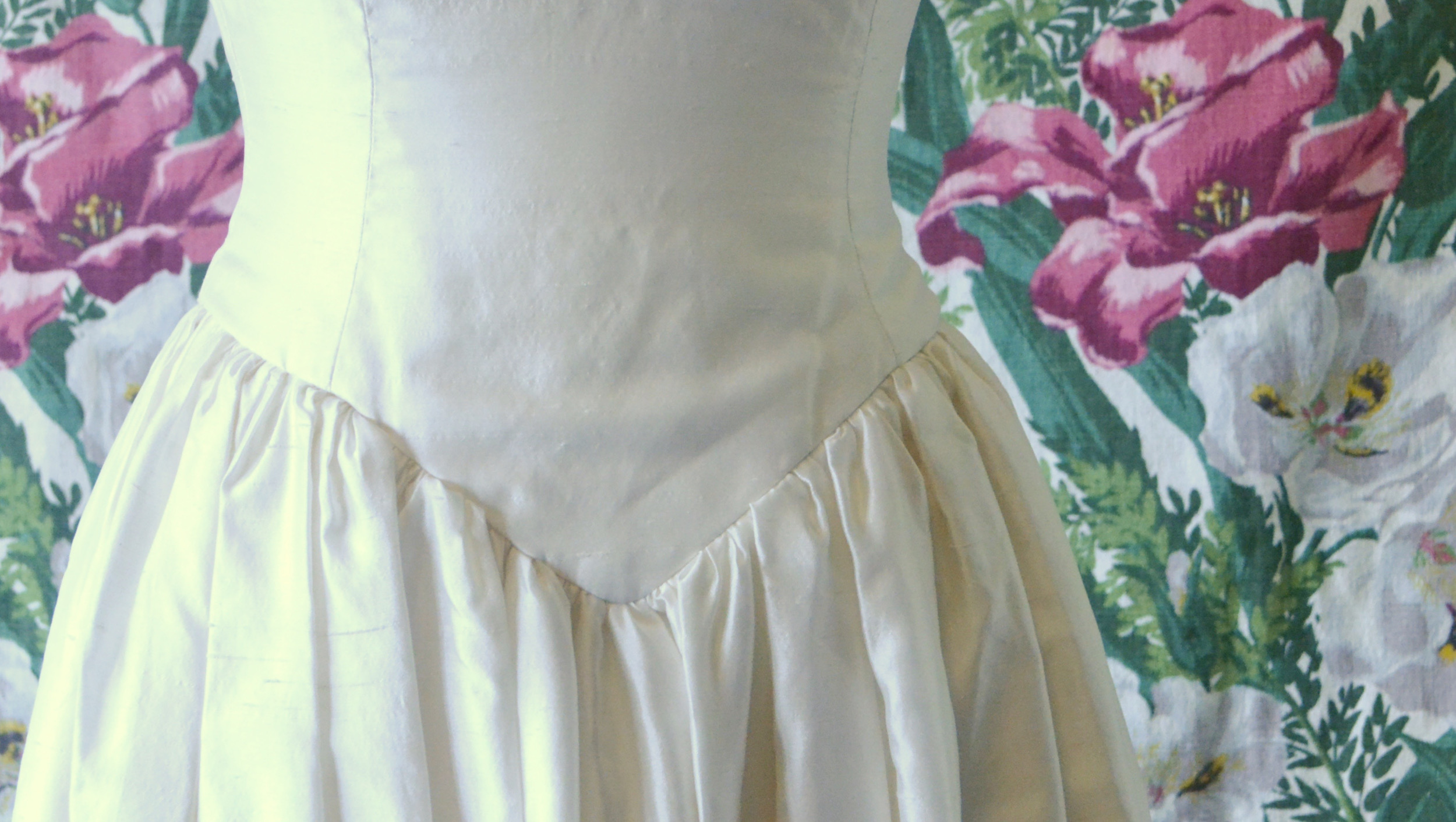 1980s Raw Silk Dress 5.jpg