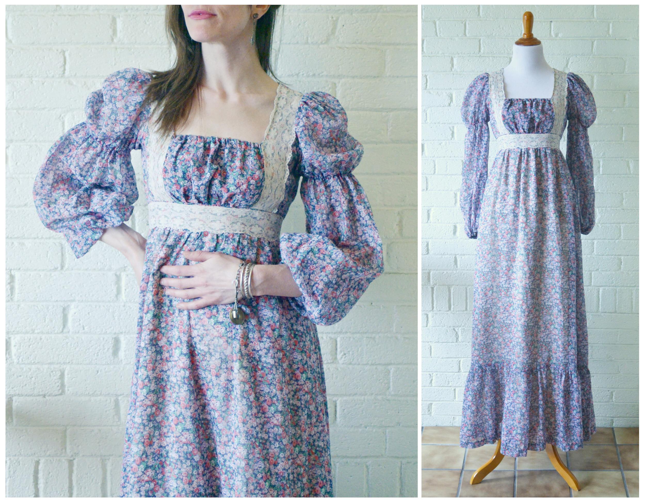 1960s Gunne Sax Peasant Dress Main.jpg