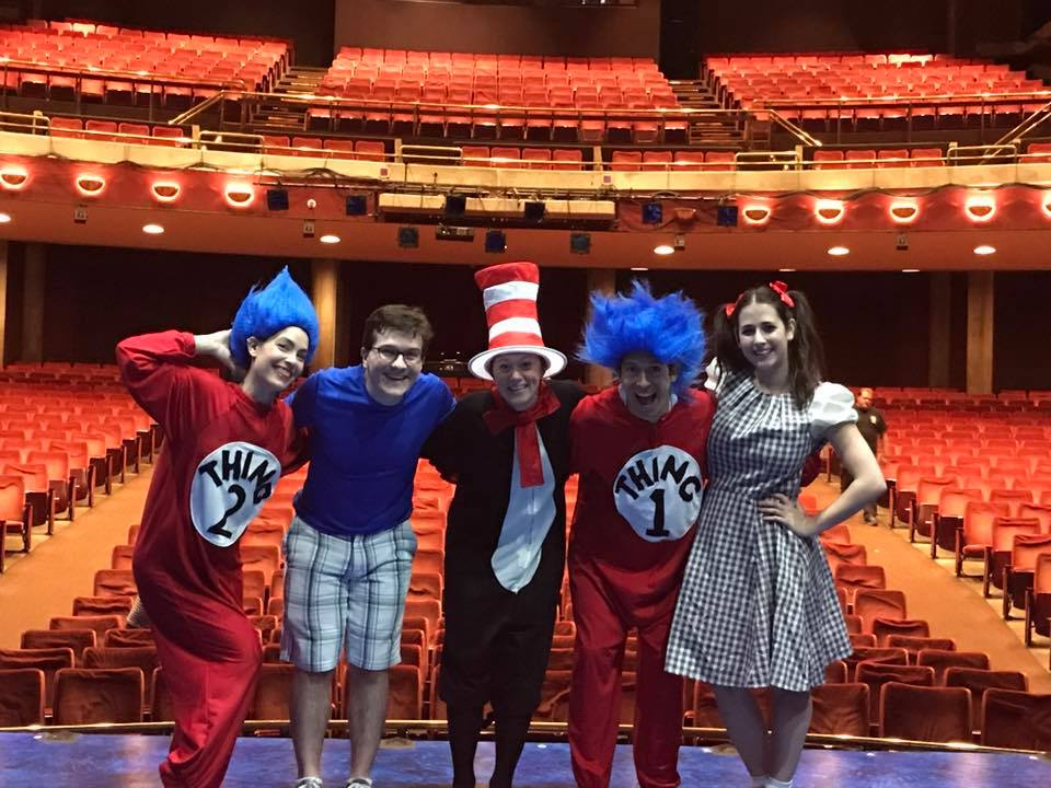 On tour with The Cat in the Hat!