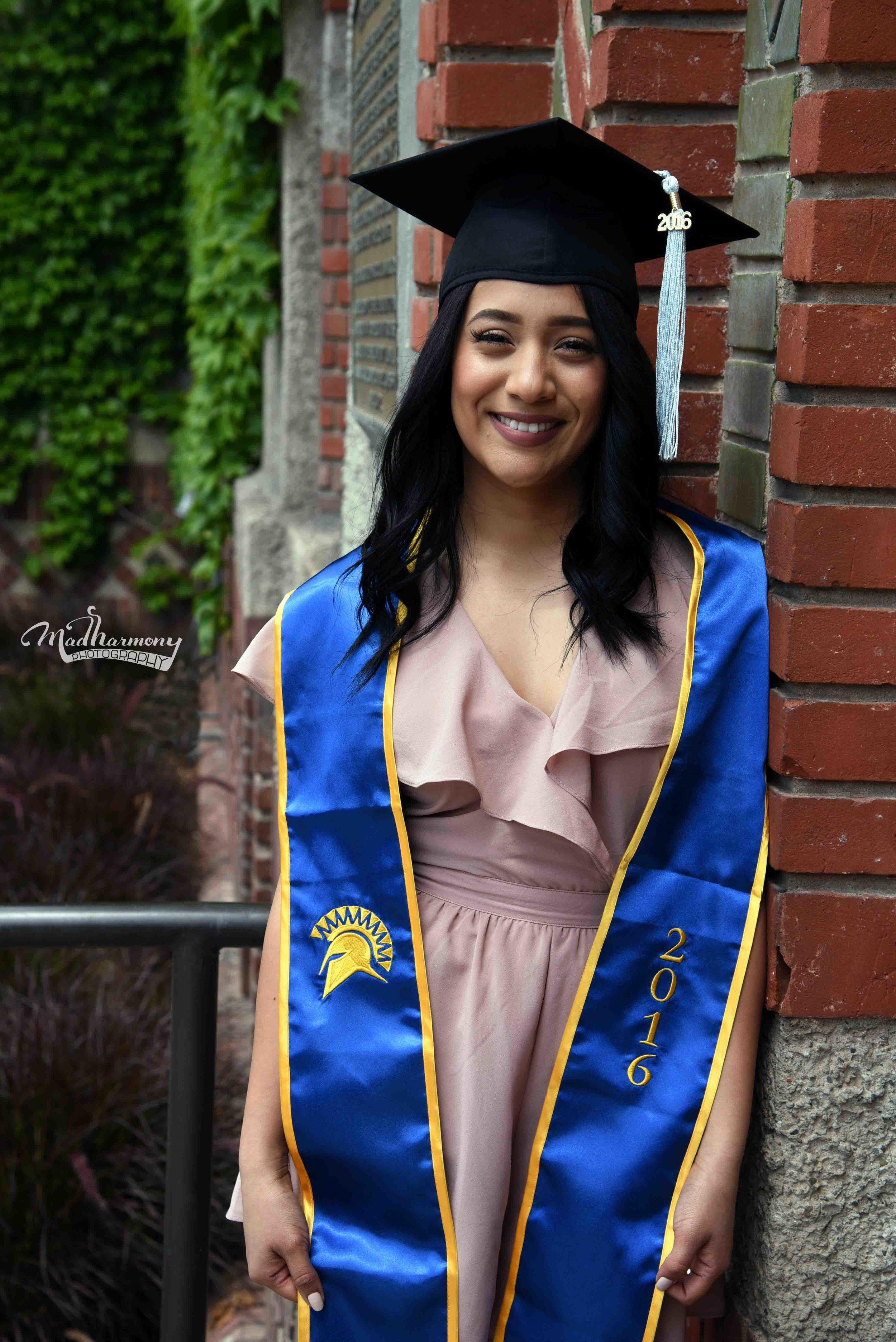 Vanessa Graduation / San Jose State University / April 2016