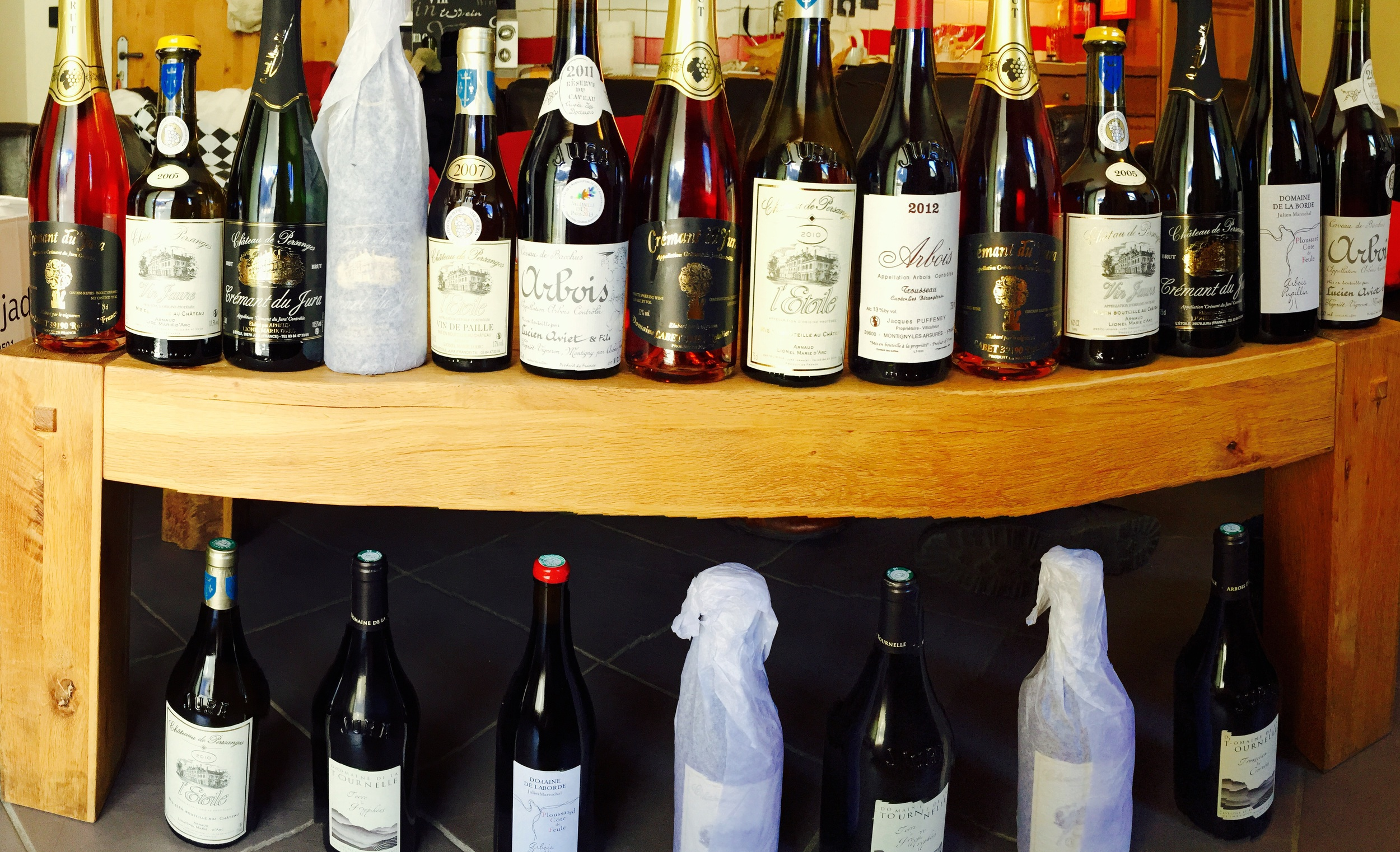 The selection of wines we are bringing back to share with you all at our next few farm dinners! We can't wait!