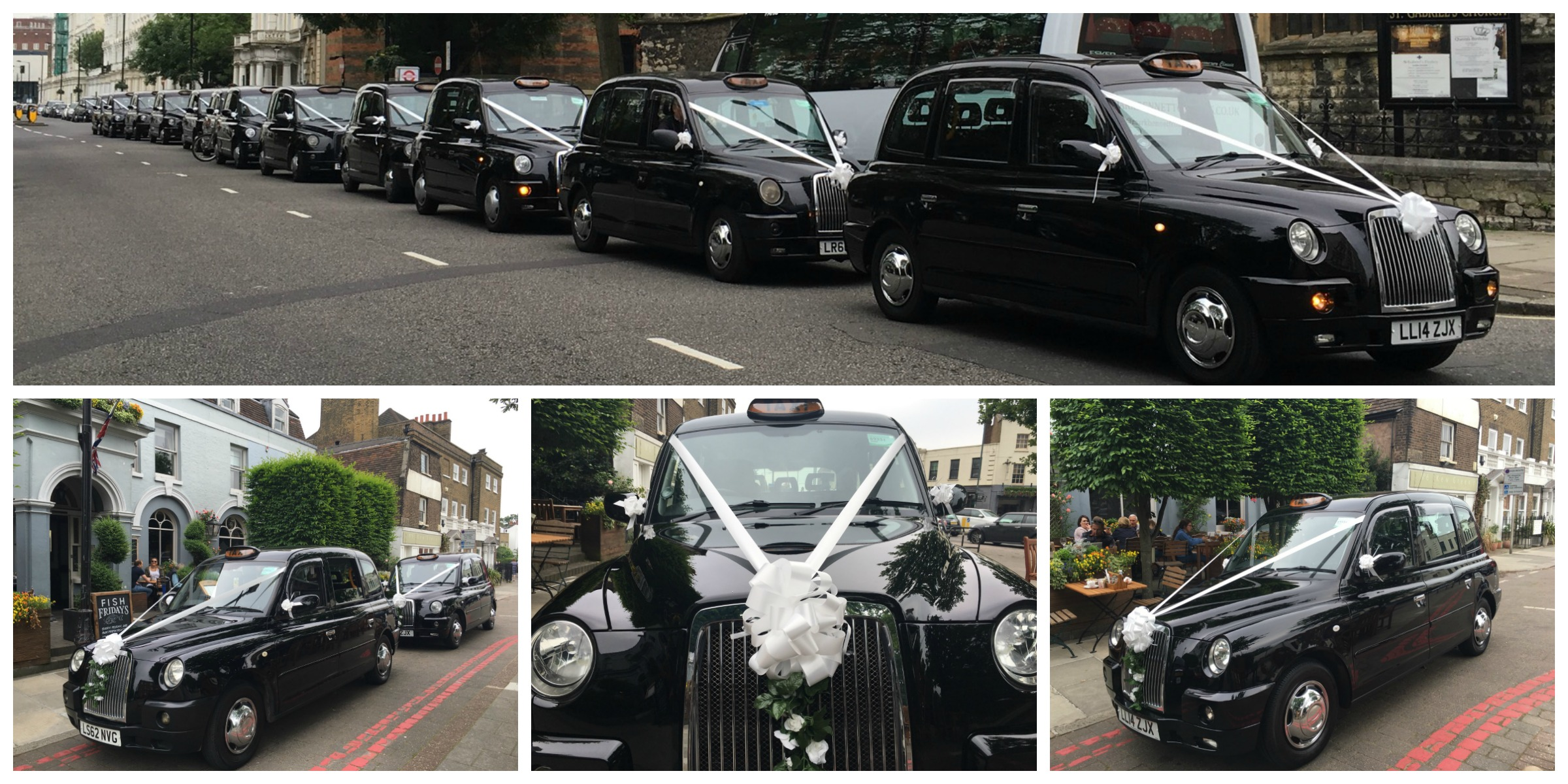 London Wedding Taxis