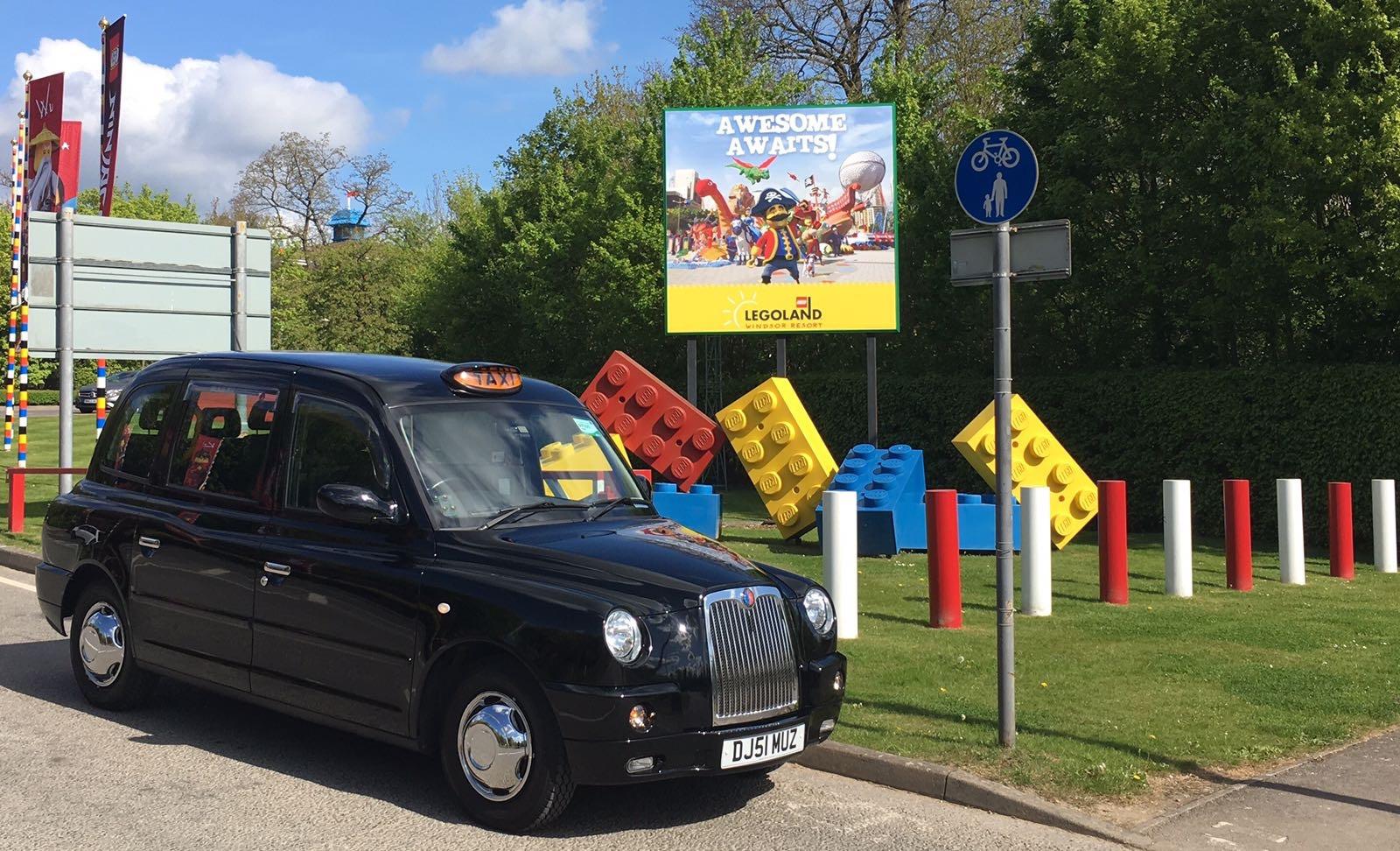 Taxi to Legoland