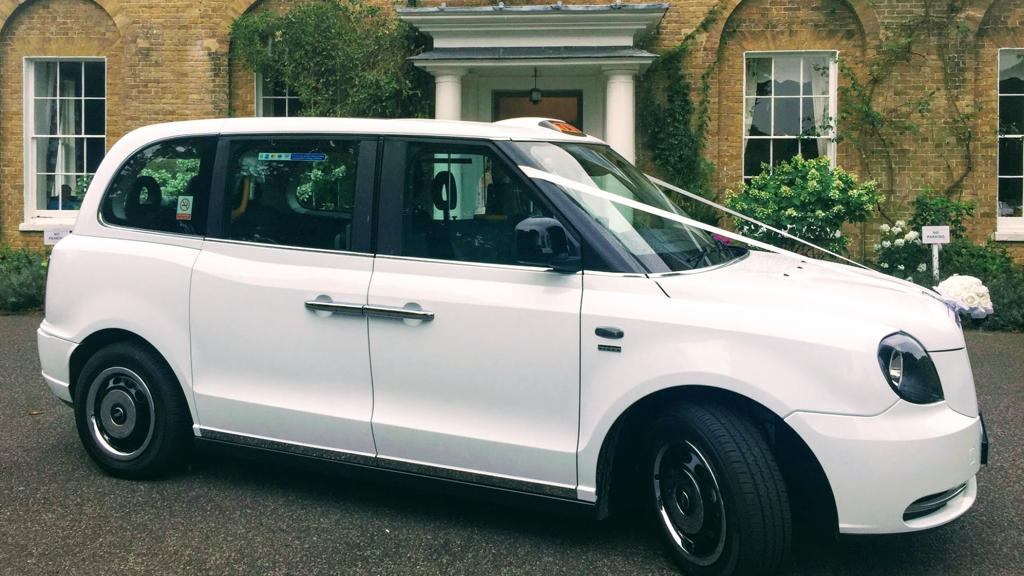 Electric Wedding Cab Hire