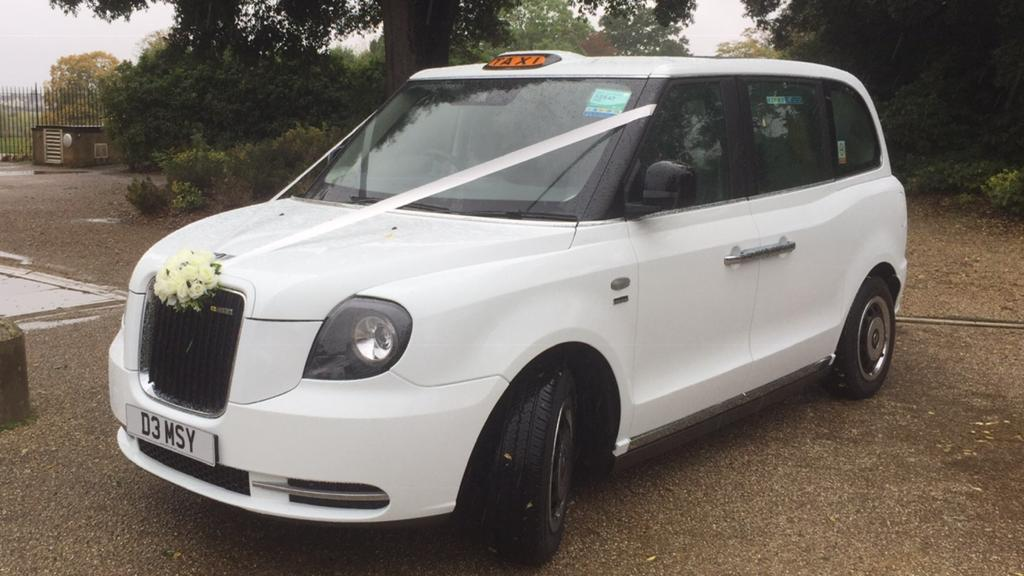 New Style London Taxi Wedding Hire