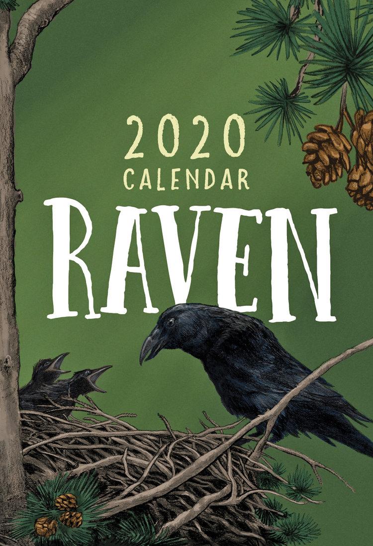 Ravens Calendar 2020 Taku Graphics 2020 Raven Calendar — Taku Graphics
