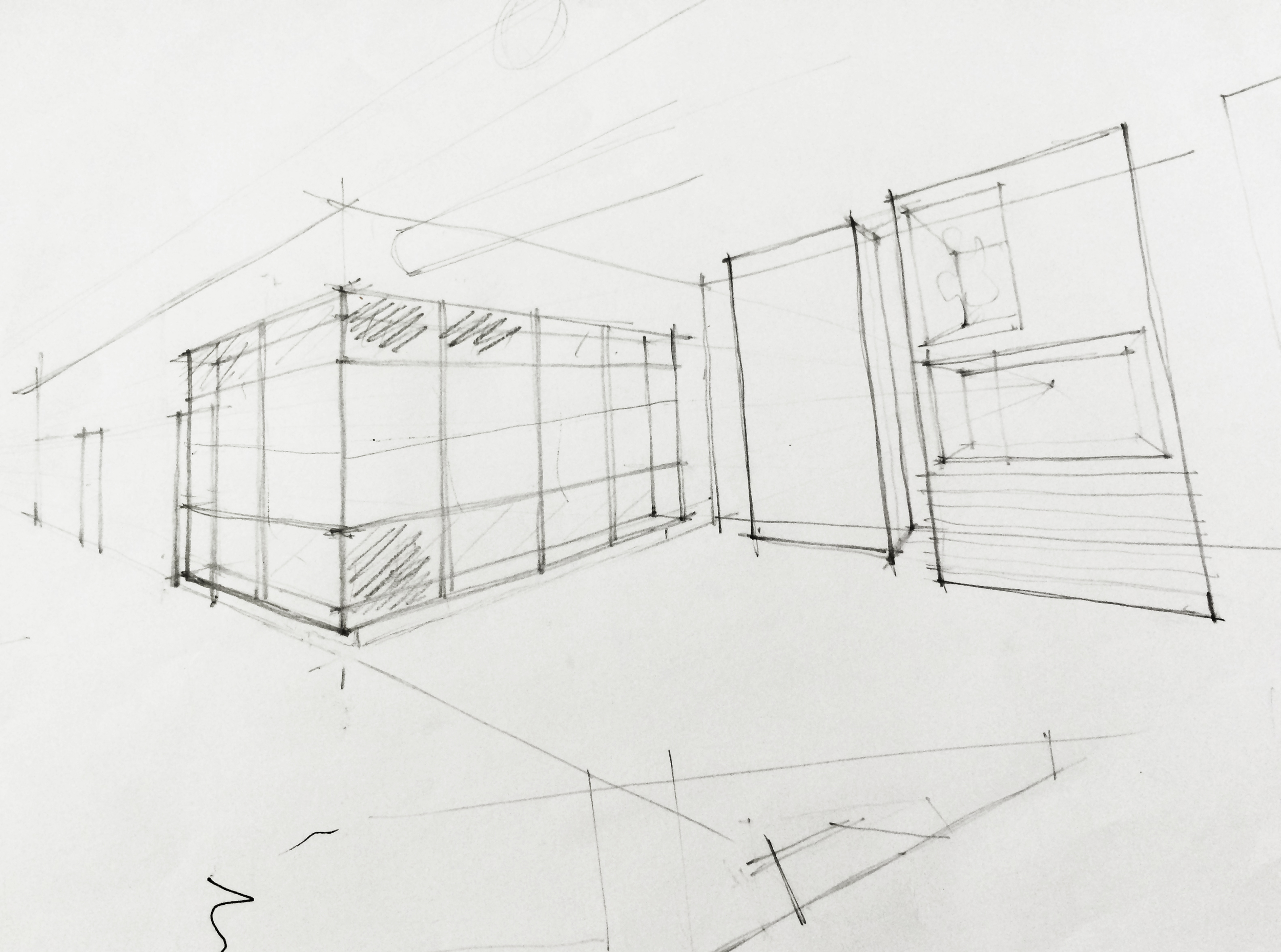 preliminary sketch of our lens laboratory