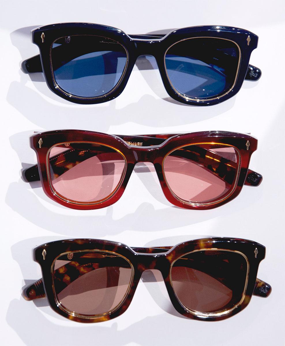 Jacques Marie Mage Pasolini sunglasses three colorways