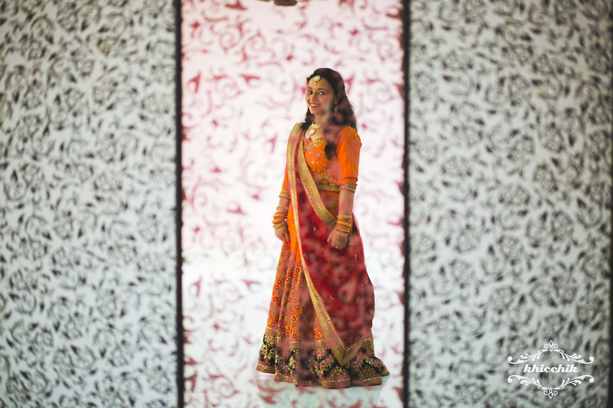 Love this portrait of Manika which I managed to make in one of the empty halls of the venue.