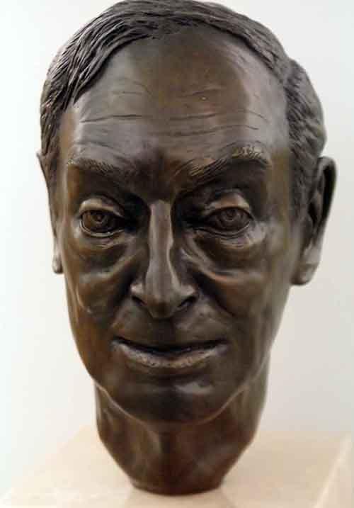 Saul Bellow , 1993 — Sara Miller Bronze —Harold Washington Library Center Photo by  Michael Steele