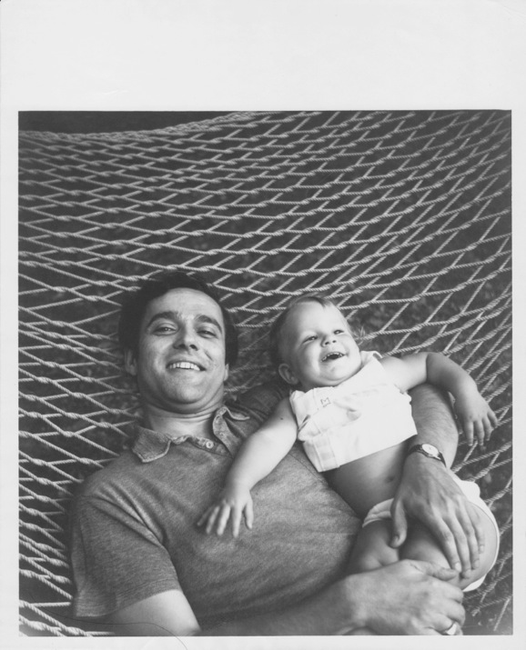 "In this photo, from the summer of 1969, Reynolds Price was 36 and Memsy was months shy of 2.  It inspired Reynolds to write ""To My Niece: Our Photograph in a Hammock,"" published in    Southern Review    in Autumn 1972 and reprinted in poetry collections."