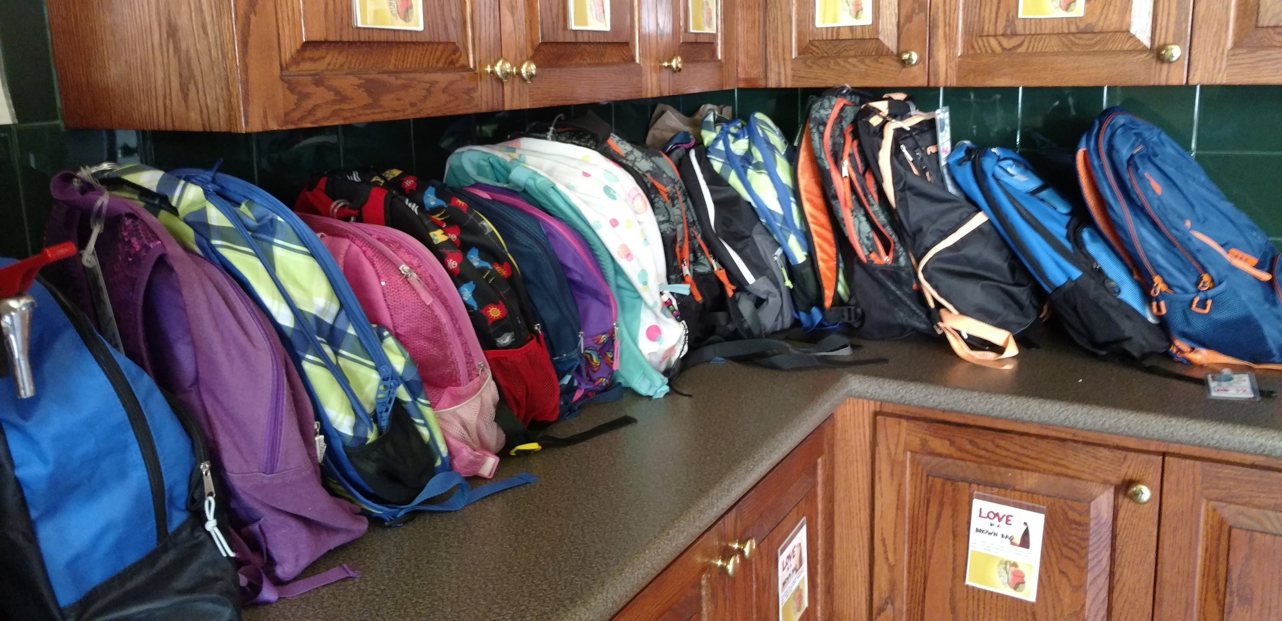 As this school year comes to a close, we would like to thank you all for your support!  If you can donate your child's gently used backpack for this ministry, please leave in the Micah's Backpack baskets in the Welcome Center at Northlake.