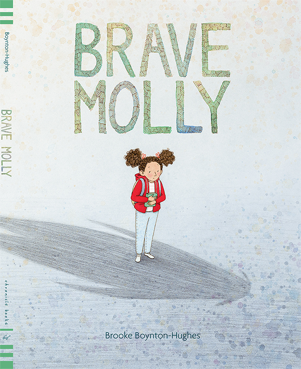 Introducing a picture book about facing the monsters only you can see. Join Molly as she faces her fears and discovers the power of bravery and friendship.   Out April 30th, 2019 from Chronicle Books.