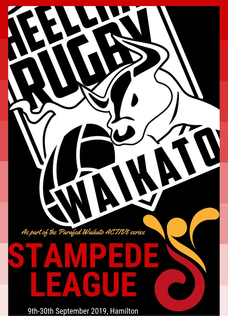 Stampede League starts soon! - Join us for four Monday nights of fun Wheelchair Rugby action. You are welcome to enter, we always have lots of fun and it's a great chance to develop your rugby. This event is part of the Parafed Waikato ACTIV8 series and hopes to build on the successful tournament we had last year.