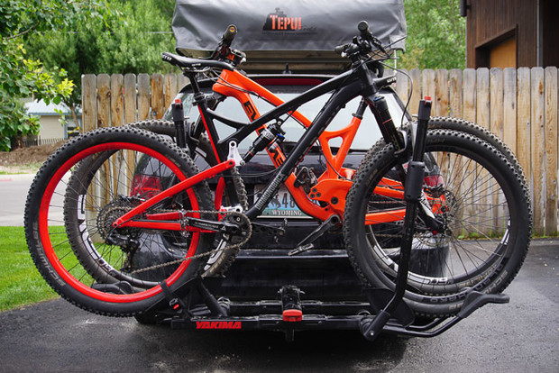 Yakima's HoldUP retails for $450 and is a burly, simple-to-use, and aerodynamic system. Ryan Dunfee photo