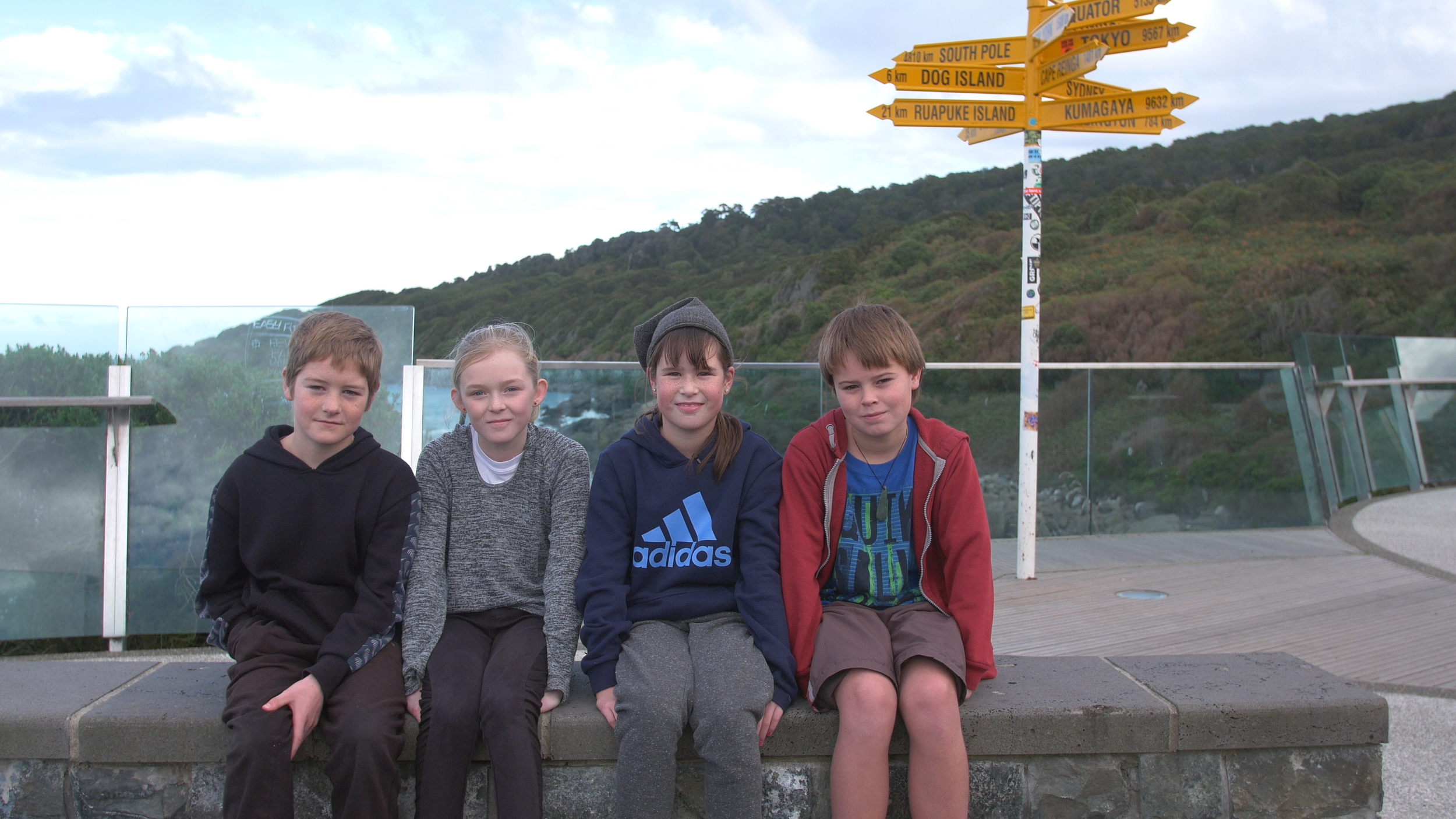 Children in Invercargill