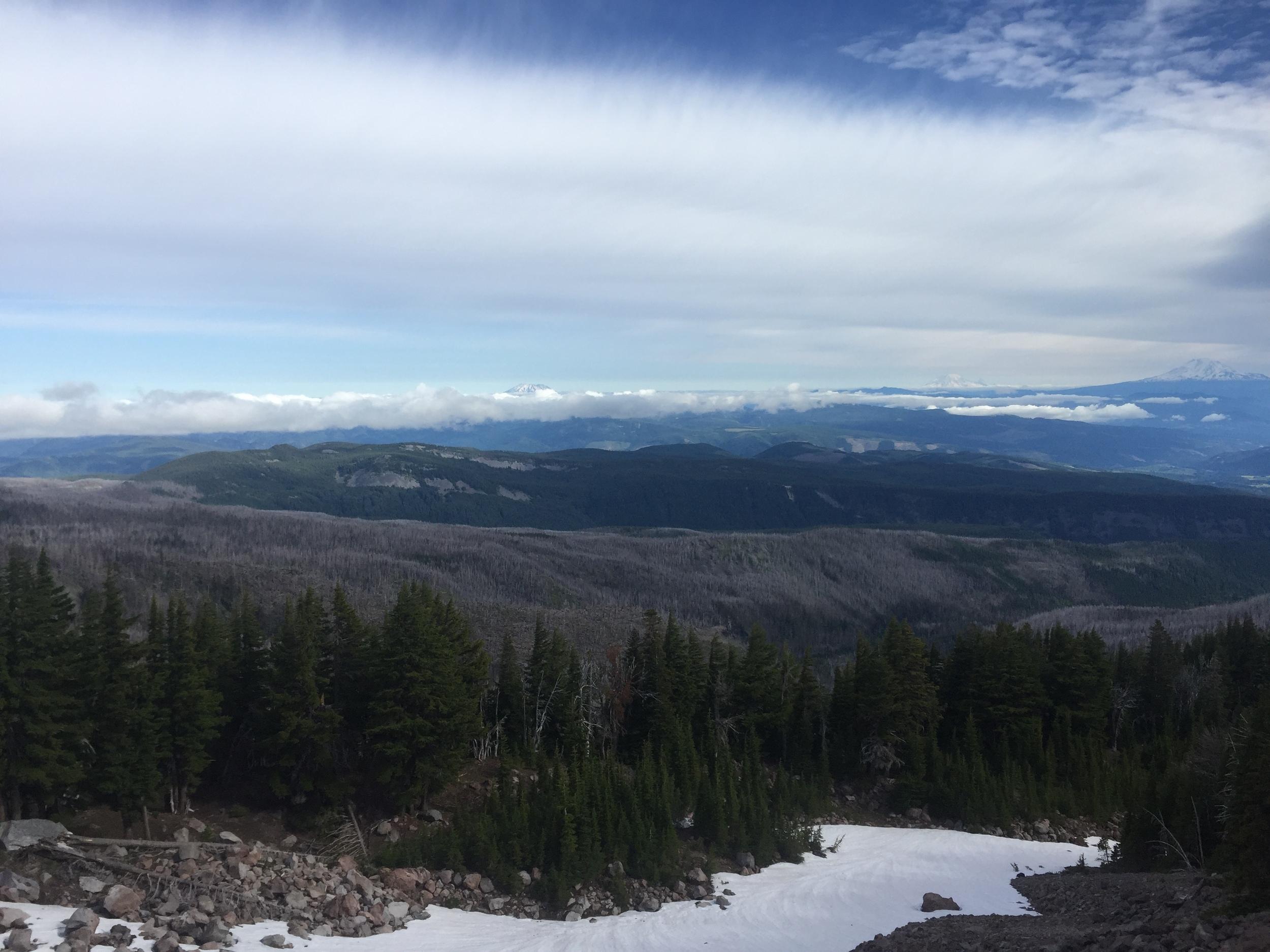 East side ridge of Coe Glacier