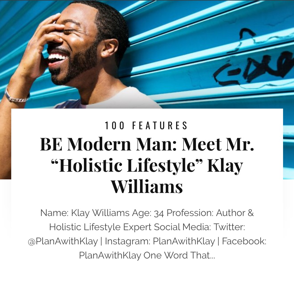 2017 Black Enterprise BE Modern Man 100 List Feature