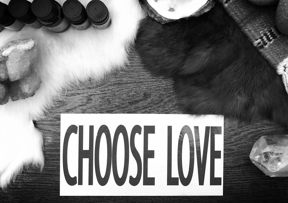 Choose Love, Neem Karoli Baba Ashram, Altar Items, Healing Tools