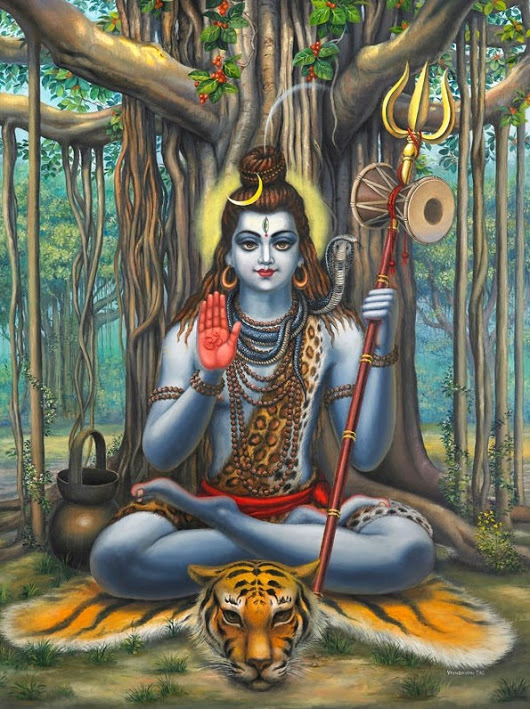 Lord Shiva    (artist unknown)