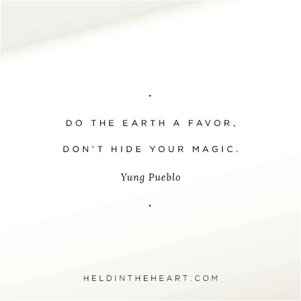 Quote by Yung Pueblo