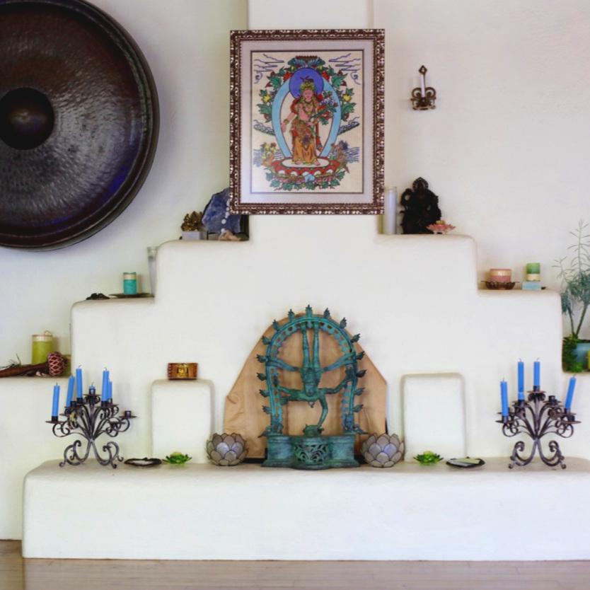 Shree Yoga Taos Altar